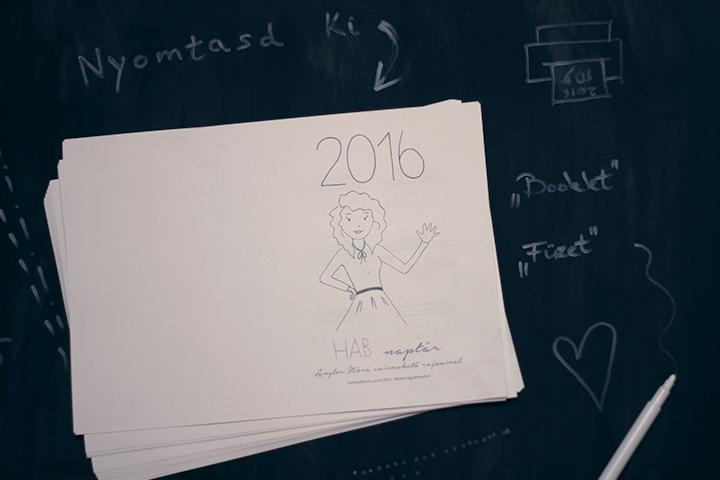 naptár összefűzése házilag DIY   nyomtatható naptár   Habfürdő naptár összefűzése házilag
